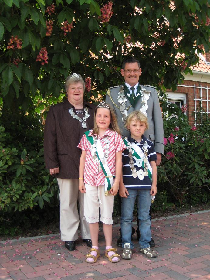 Schützenverein mit neuen Majestäten